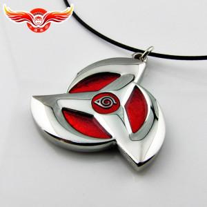 Naruto cool fashion Hatake Kakashi Pendant necklace Blood Eye version