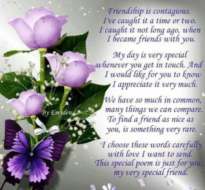 ... special friends friendship quotes poems inspiration friendship poems