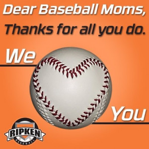 Baseball Moms...We Heart You. Repin if proud to be a baseball mom ...