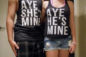 aye she s mine # aye he s mine # aye # she s # he s # mine