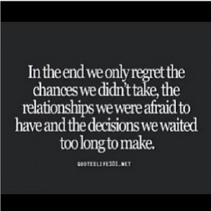 Relationship Quotes With Regrets
