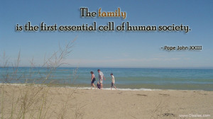 Family Thoughts-Quotes-Pope John XXIII-Human Society-Best Quotes