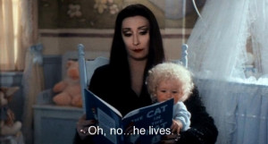 addams family values, anjelica huston, morticia addams, movie, quote ...