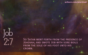 bible quote job 1 10 inspirational hubble space telescope image