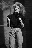 Elayne Boosler- comedian who refuses to do the generic female comedy ...