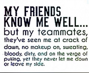 on fighting teammates quote 6 quotes about teammates friends quotes ...