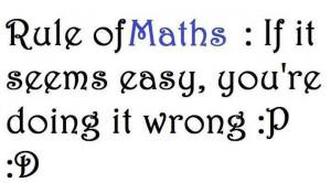 hate math :D