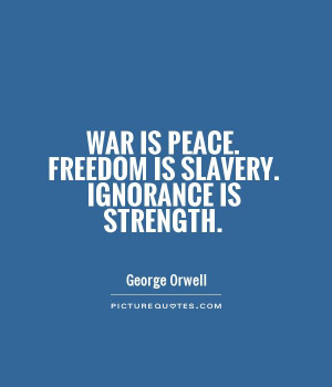 War Freedom Peace 1984 George Orwell Wallpaper Wallchan Picture