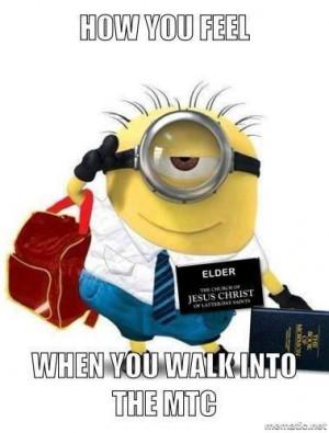 memes #Missionary Work #Greenie PreparetoServe.comMissionaries Minions ...