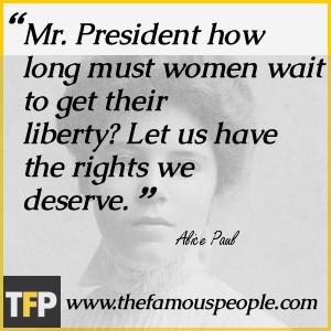 Alice Paul Biography