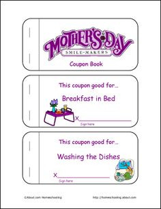 Mother's Day Printables 1