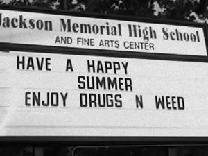 summer #weed #drugs #funny #last day of school