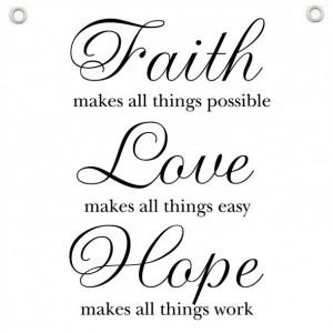 hope love faith quotes hope love faith quotes hope love faith quotes ...