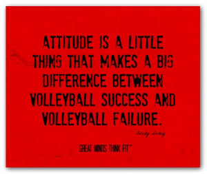 ... between volleyball success and volleyball failure.
