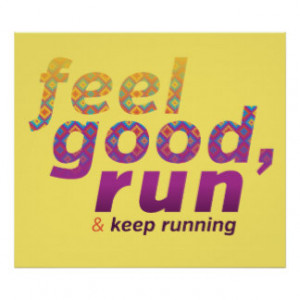 Running Quotes Posters & Prints
