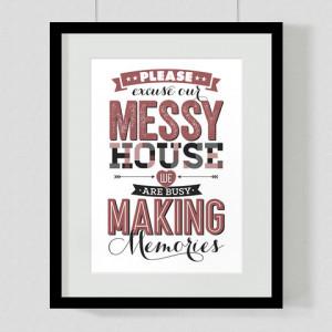 Making Memories Quote Art Print