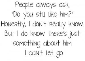 People always ask,