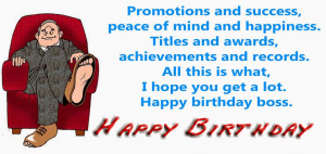 Funny Birthday Wishes For Boss Happy Quotes