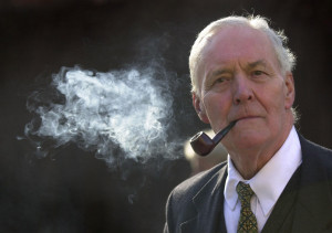 Tony Benn has not been chatting for long when my right hand begins to ...