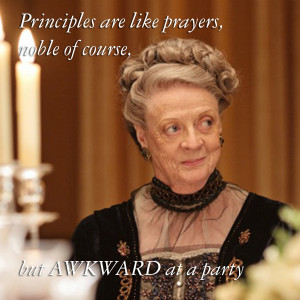 Life lessons from Maggie Smith's Downton Abbey quotes