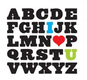 alphabet, alphabet love, alphabets, black, creative, cute, cutie ...