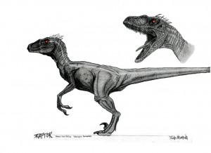 Maxx Pink line Raptor by beastofoblivion on DeviantArt