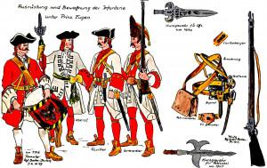 Imperial Austrian Infantry of Prince Eugene.