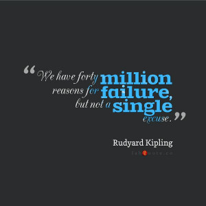 "Rudyard Kipling ""Failure"" Quote"