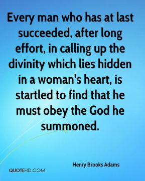 Every man who has at last succeeded, after long effort, in calling up ...