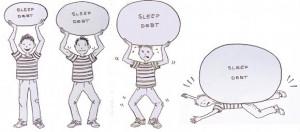 Don't let sleep debt weigh you down.