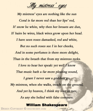 ... Famous English Poets including Shakespeare, William Blake, and Keats