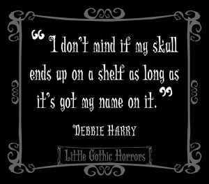 Gothic Love Quotes For Him Who doesn't love skulls?