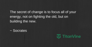 An Inspirational Quote from Socrates