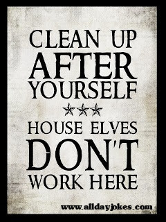 House Elves don't work here
