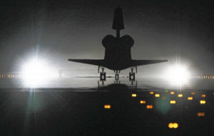 ... ending the flawless final mission of NASA's space shuttle program