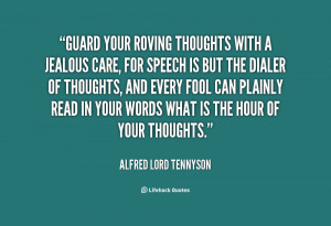 Guard Your Thoughts Quotes