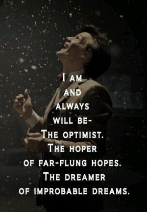This is kinda geeky/nerdy, but the quote belongs here.