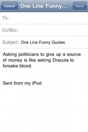 One Line Funny Quotes Entertainment iPhone & iPod Touch App Review ...