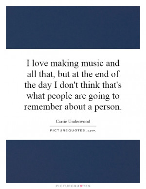 ... People Are Going To Remember About A Person Quote | Picture Quotes