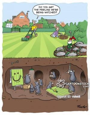 Cutting The Grass cartoons, Cutting The Grass cartoon, funny, Cutting ...