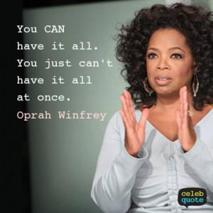oprah quote - plan each business idea effectivey