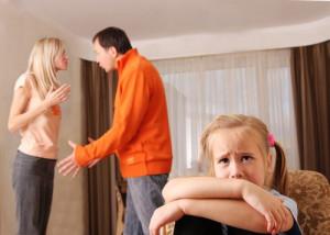 Parents fighting ups child stress levels