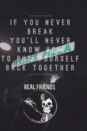 real friends band tumblr quotes