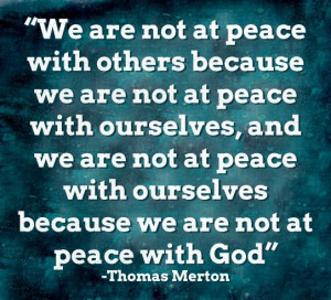 From The Archives: How To Make Peace