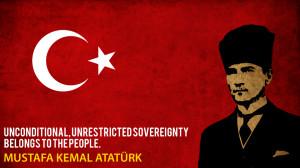 Mustafa Kemal Ataturk by Mubtari
