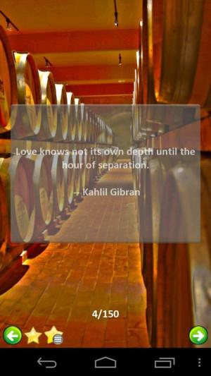 Kahlil Gibran's Quotes - screenshot