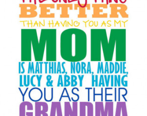 Mother Grandma Nana Mom Nani Tia Au nt Subway Art Typography - Mothers ...