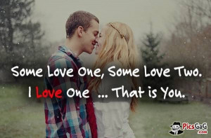 Romantic Couple Cute Quote On