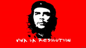 2560x1440 humor quotes funny che guevara simple background pixelated ...