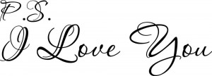 5pcs-lot-P-S-I-Love-You-Cute-Cursive-vinyl-wall-decal-quote-sticker ...